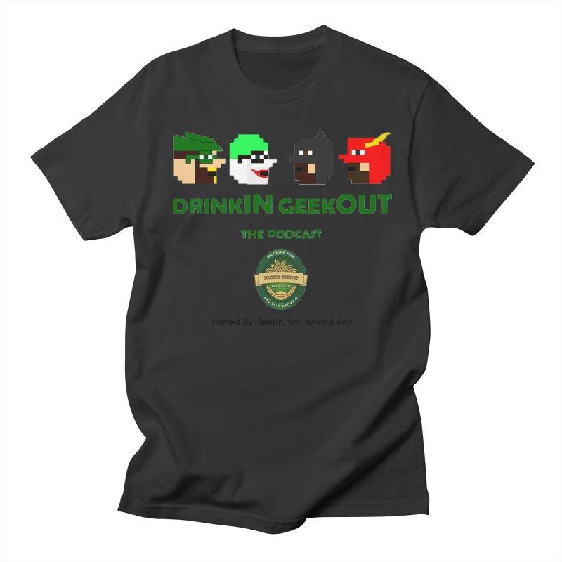 DC DiGo (no fill) Women's Regular Unisex T-Shirt by DrinkIN GeekOUT's Artist Shop