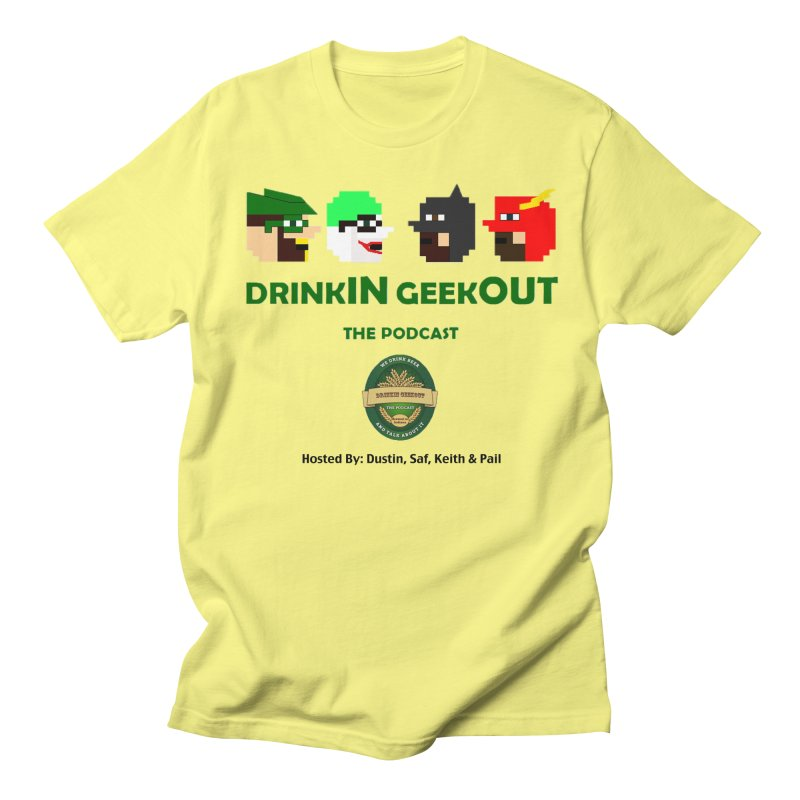 DC DiGo (no fill) Men's Regular T-Shirt by DrinkIN GeekOUT's Artist Shop