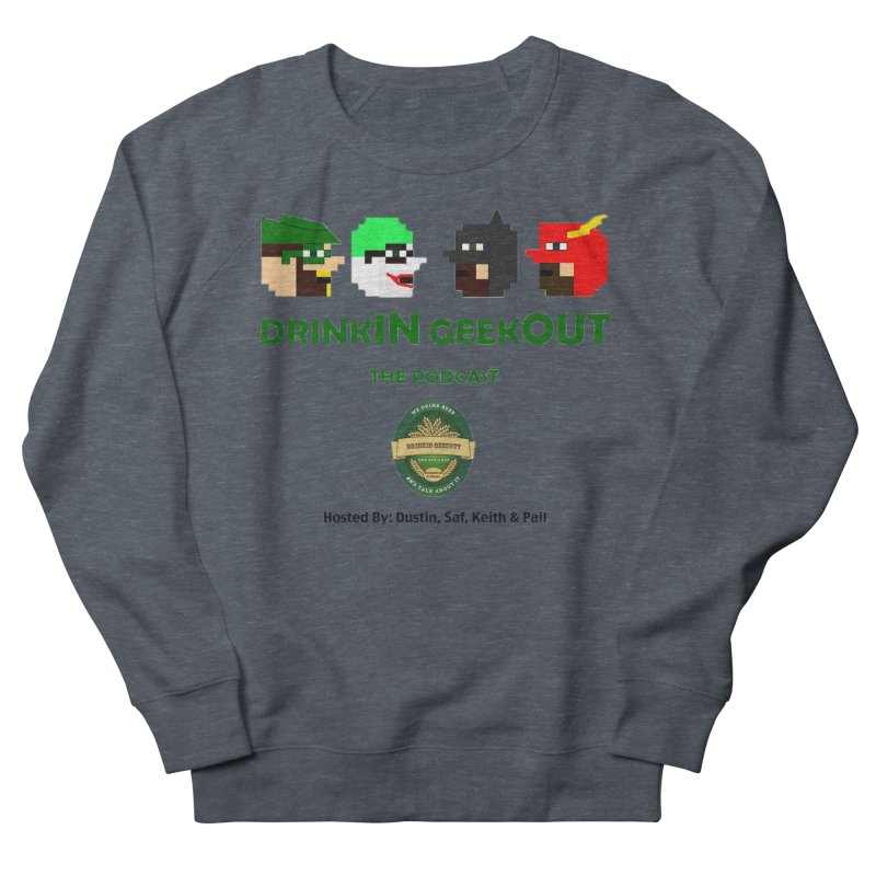 DC DiGo (no fill) Women's French Terry Sweatshirt by DrinkIN GeekOUT's Artist Shop