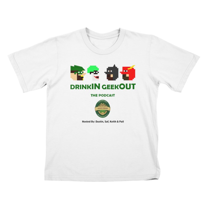 DC DiGo (no fill) Kids T-Shirt by DrinkIN GeekOUT's Artist Shop