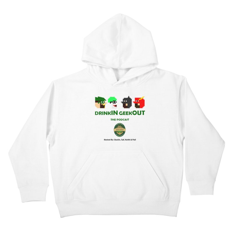 DC DiGo (no fill) Kids Pullover Hoody by DrinkIN GeekOUT's Artist Shop