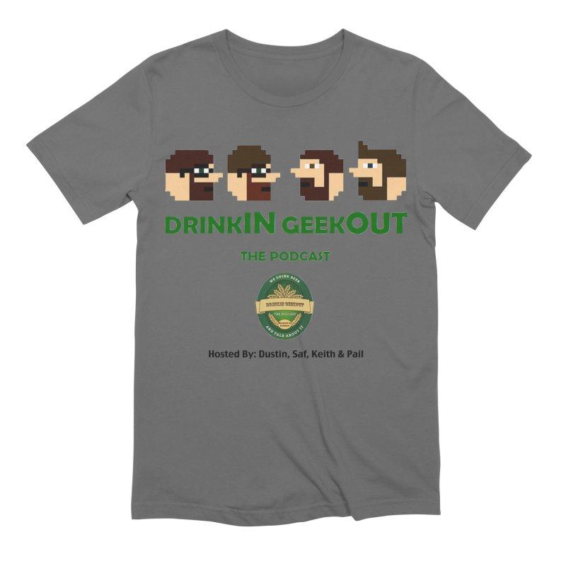 DiGo (no fill) Men's T-Shirt by DrinkIN GeekOUT's Artist Shop