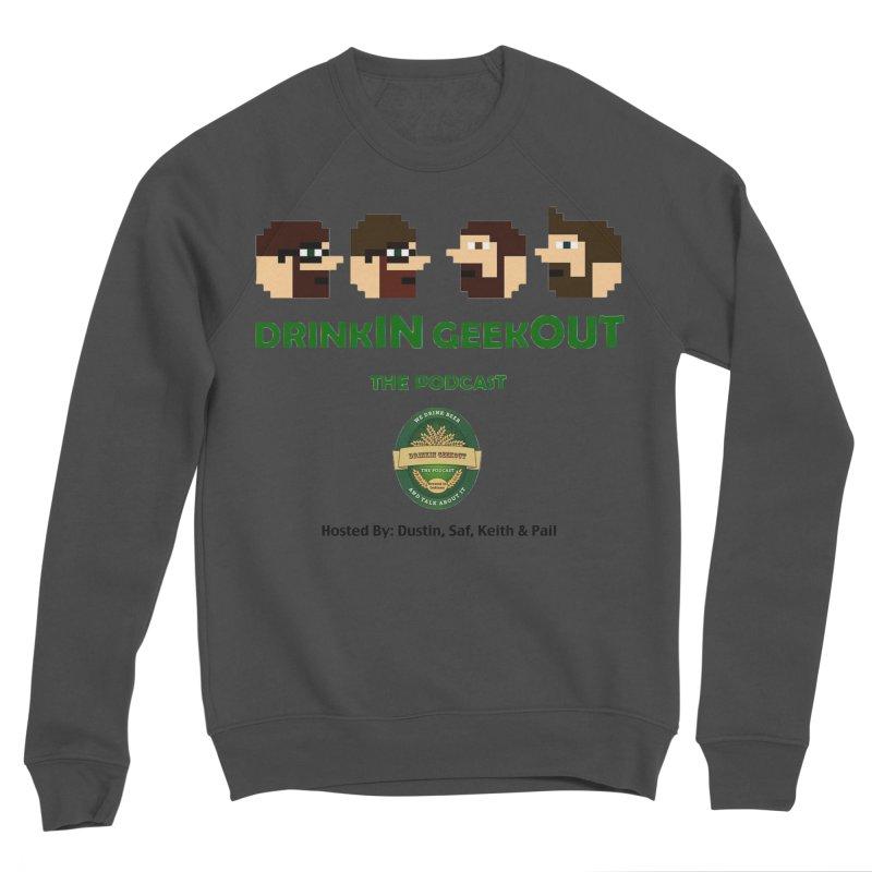 DiGo (no fill) Women's Sponge Fleece Sweatshirt by DrinkIN GeekOUT's Artist Shop