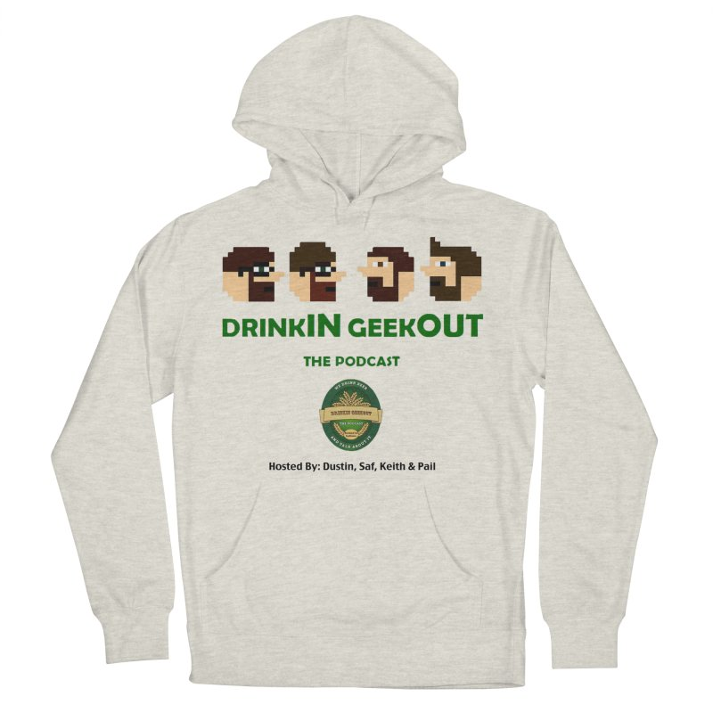 DiGo (no fill) Men's French Terry Pullover Hoody by DrinkIN GeekOUT's Artist Shop