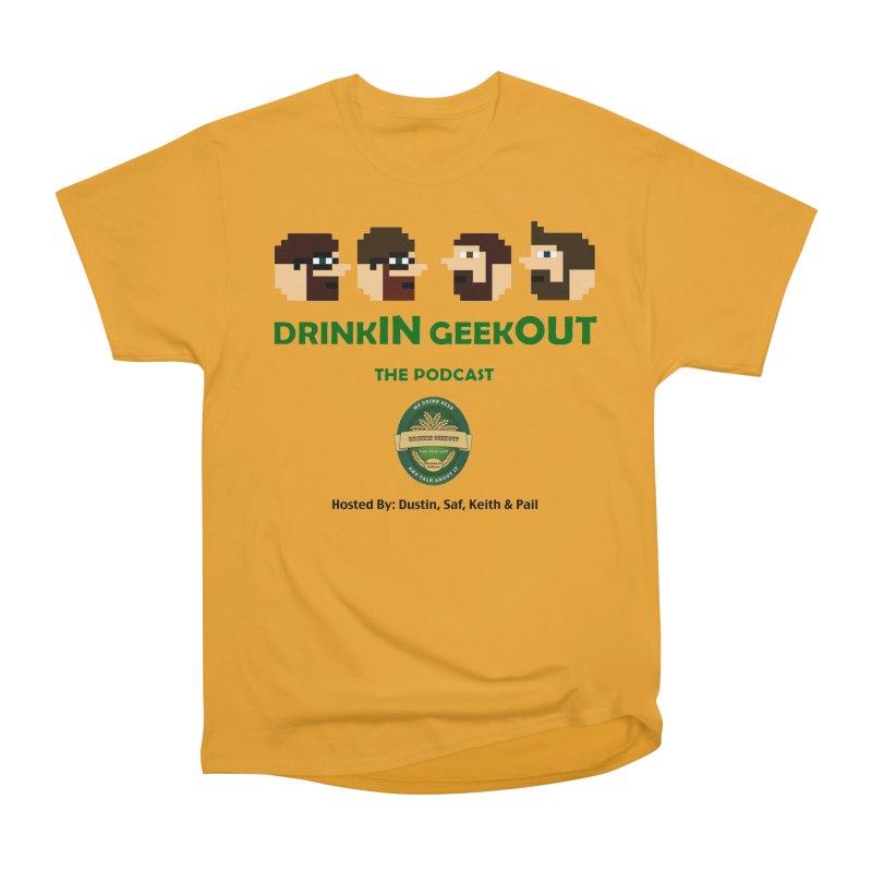 DiGo (no fill) Men's Heavyweight T-Shirt by DrinkIN GeekOUT's Artist Shop