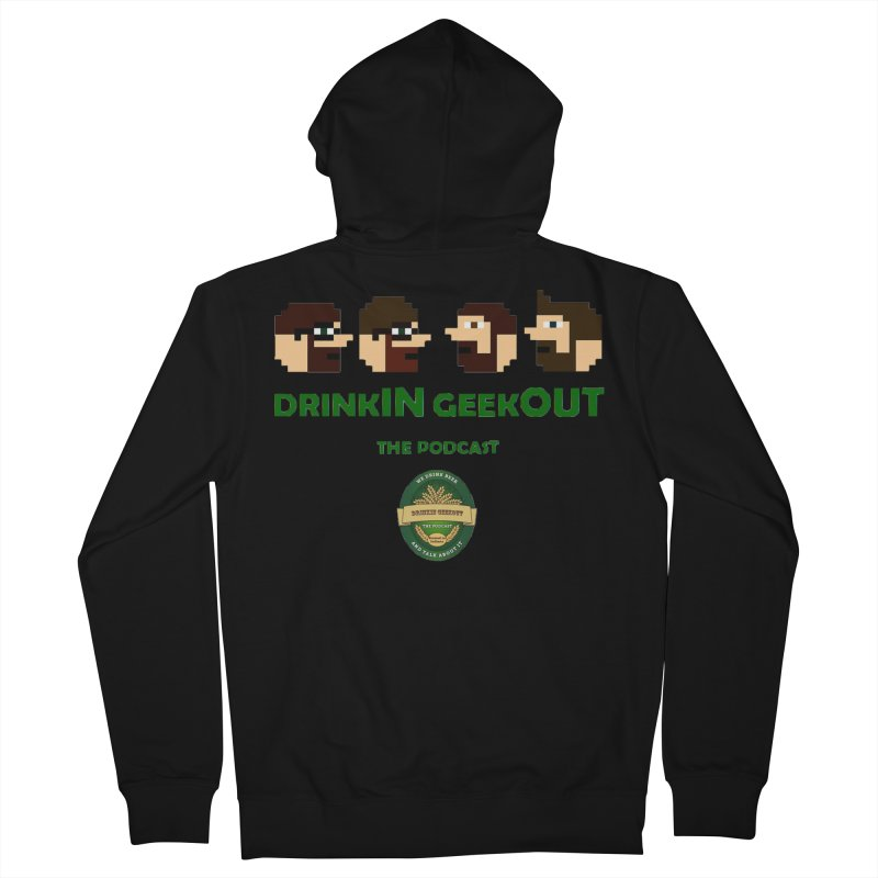 DiGo (no fill) Women's French Terry Zip-Up Hoody by DrinkIN GeekOUT's Artist Shop