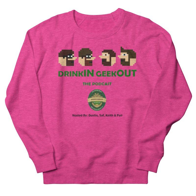 DiGo (no fill) Men's French Terry Sweatshirt by DrinkIN GeekOUT's Artist Shop