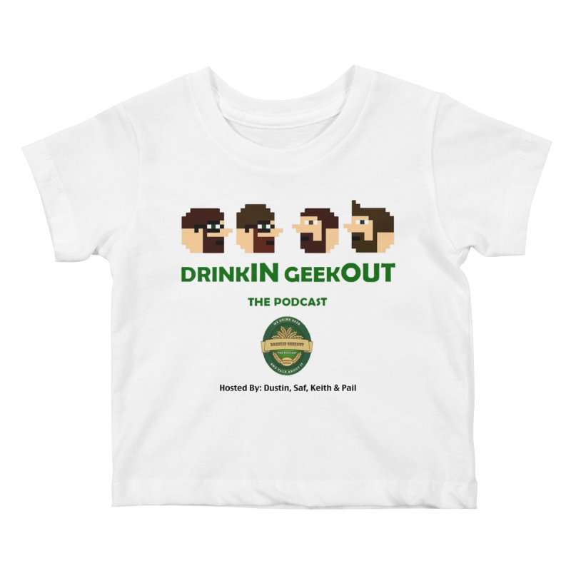 DiGo (no fill) Kids Baby T-Shirt by DrinkIN GeekOUT's Artist Shop