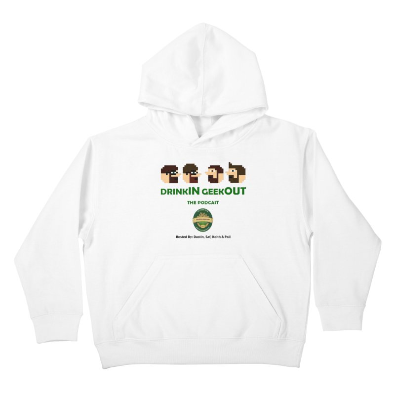 DiGo (no fill) Kids Pullover Hoody by DrinkIN GeekOUT's Artist Shop