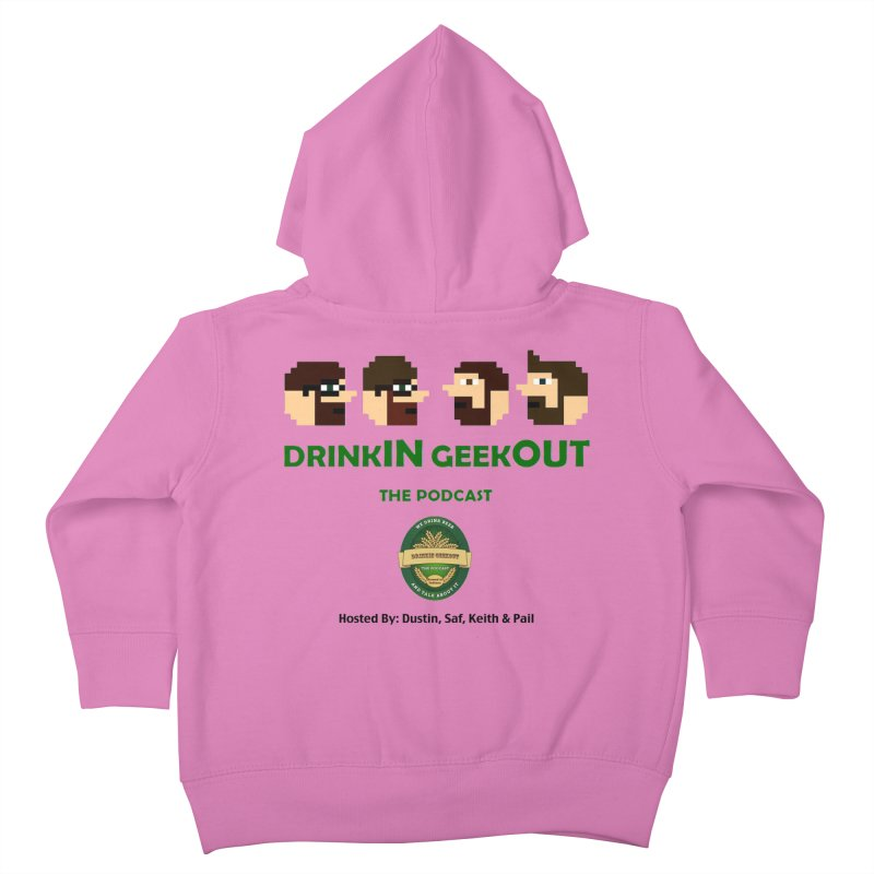 DiGo (no fill) Kids Toddler Zip-Up Hoody by DrinkIN GeekOUT's Artist Shop