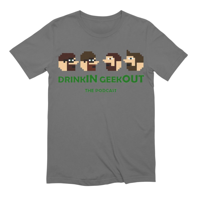 DiGo (heads only) Men's T-Shirt by DrinkIN GeekOUT's Artist Shop