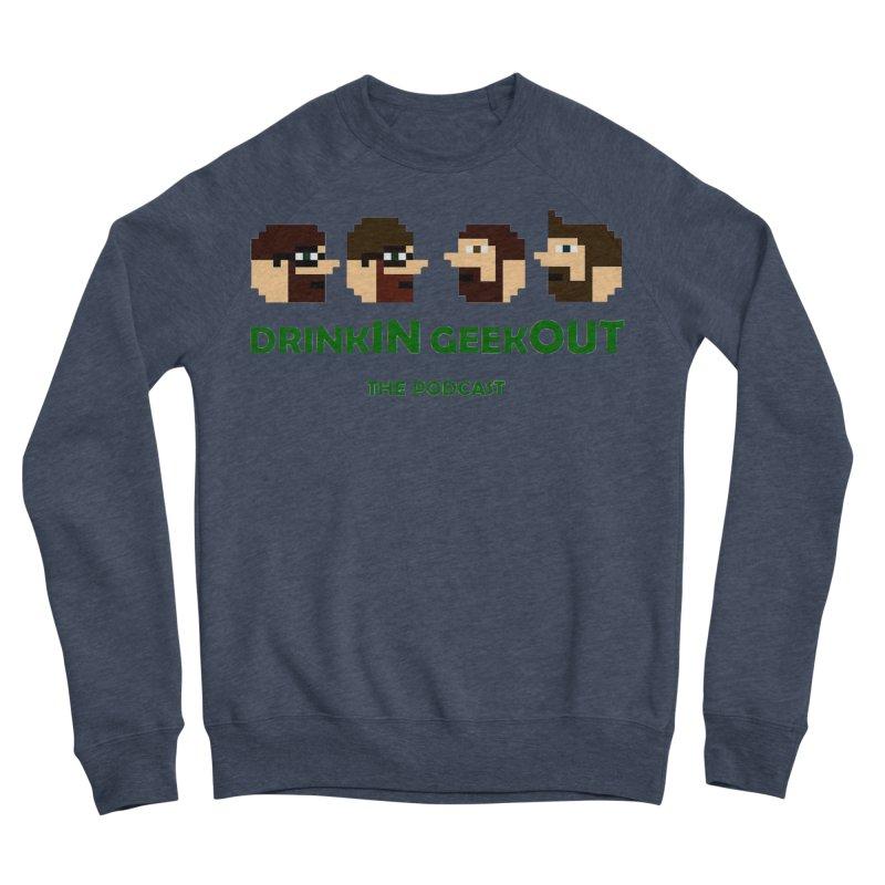 DiGo (heads only) Women's Sponge Fleece Sweatshirt by DrinkIN GeekOUT's Artist Shop