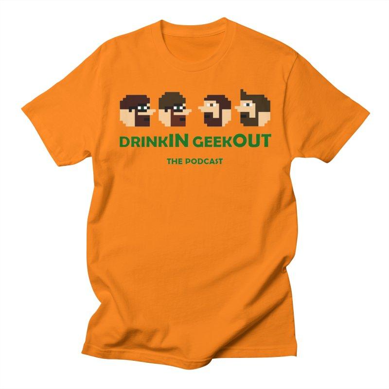 DiGo (heads only) Women's Regular Unisex T-Shirt by DrinkIN GeekOUT's Artist Shop
