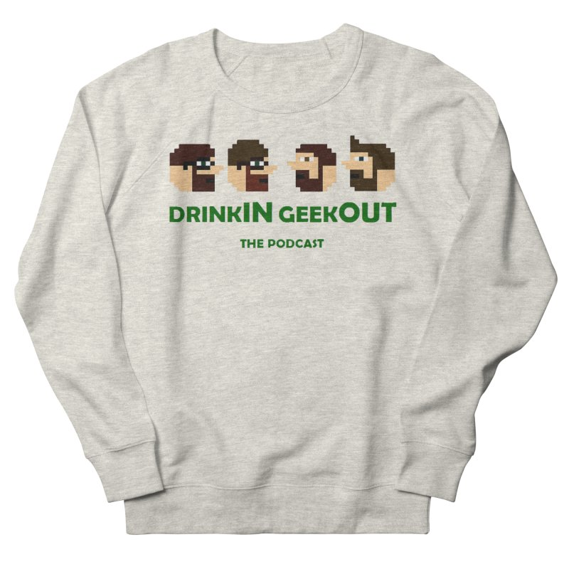 DiGo (heads only) Women's French Terry Sweatshirt by DrinkIN GeekOUT's Artist Shop