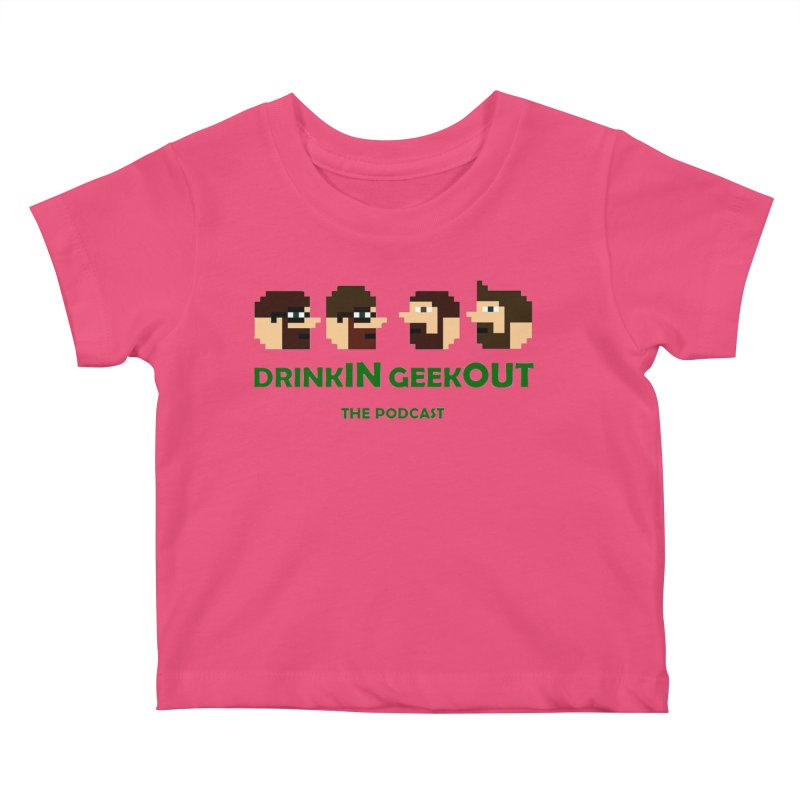 DiGo (heads only) Kids Baby T-Shirt by DrinkIN GeekOUT's Artist Shop