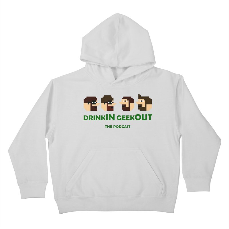 DiGo (heads only) Kids Pullover Hoody by DrinkIN GeekOUT's Artist Shop