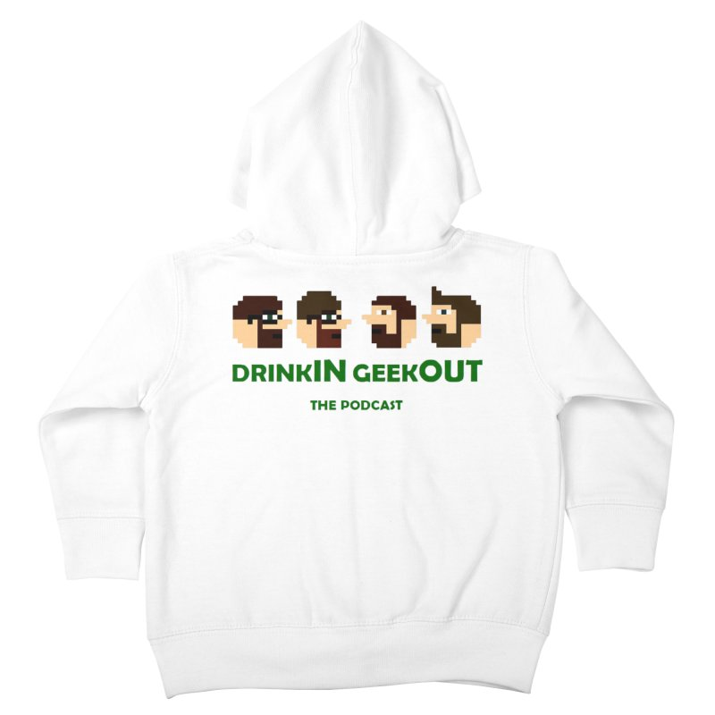 DiGo (heads only) Kids Toddler Zip-Up Hoody by DrinkIN GeekOUT's Artist Shop