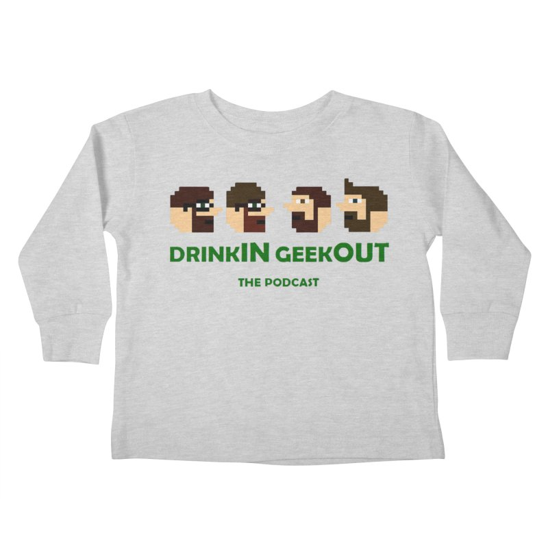 DiGo (heads only) Kids Toddler Longsleeve T-Shirt by DrinkIN GeekOUT's Artist Shop