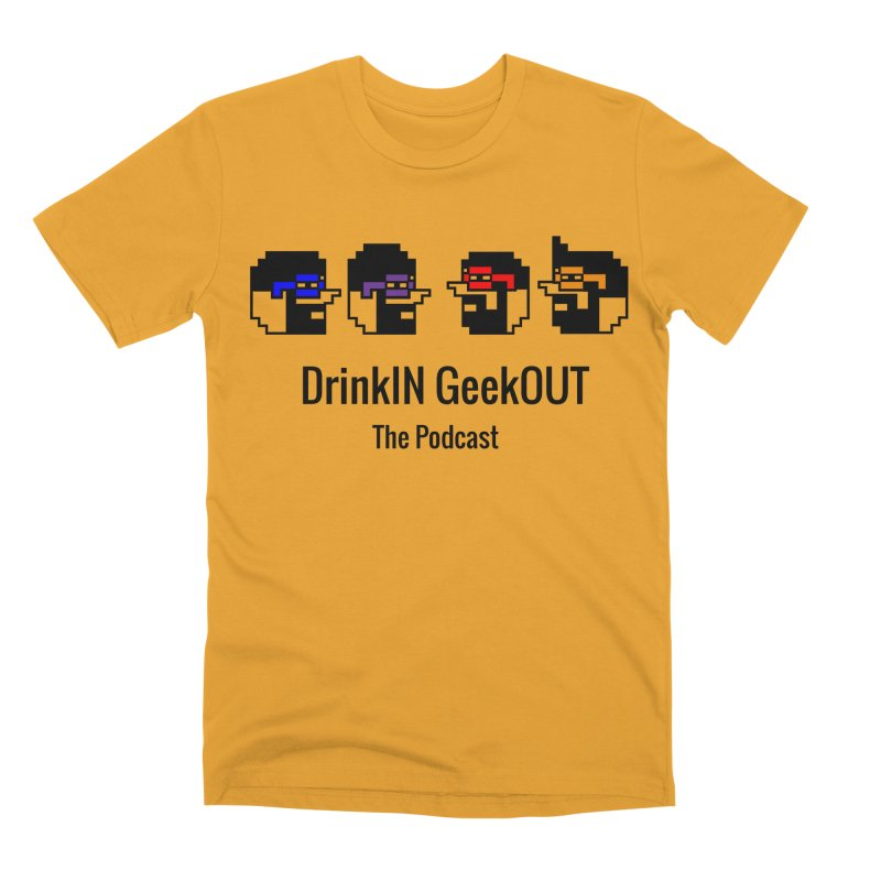 ANDG (Adult Normal Drinking Geeks) Men's Premium T-Shirt by DrinkIN GeekOUT's Artist Shop