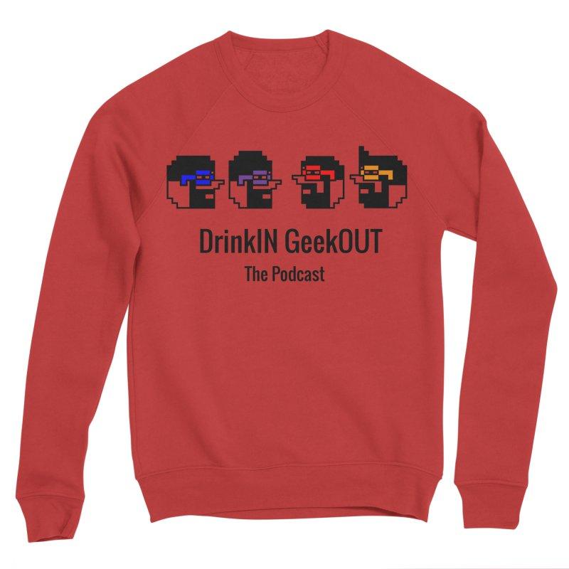 ANDG (Adult Normal Drinking Geeks) Women's Sponge Fleece Sweatshirt by DrinkIN GeekOUT's Artist Shop