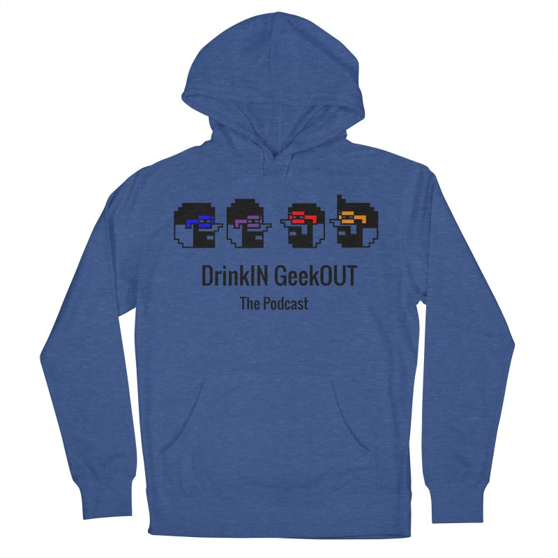 ANDG (Adult Normal Drinking Geeks) Men's French Terry Pullover Hoody by DrinkIN GeekOUT's Artist Shop