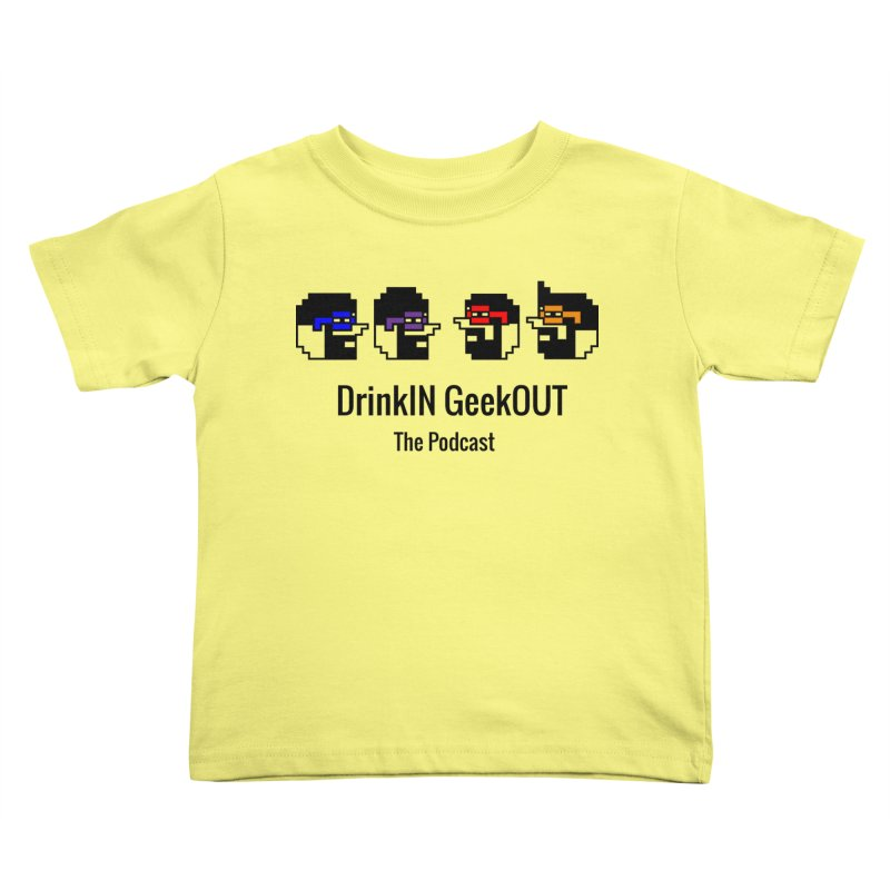 ANDG (Adult Normal Drinking Geeks) Kids Toddler T-Shirt by DrinkIN GeekOUT's Artist Shop