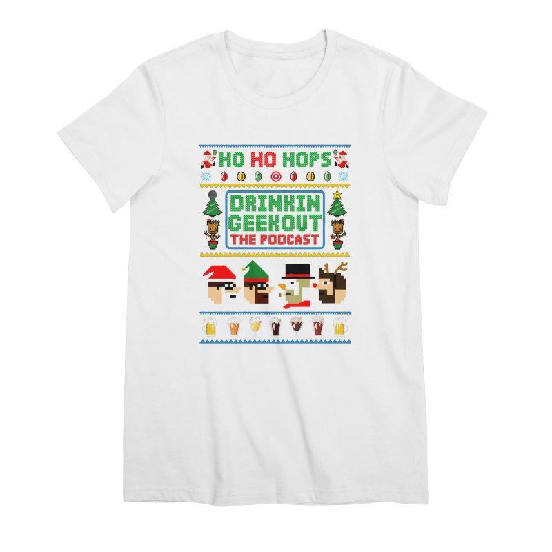 Ugly DiGo Sweater Women's Premium T-Shirt by DrinkIN GeekOUT's Artist Shop