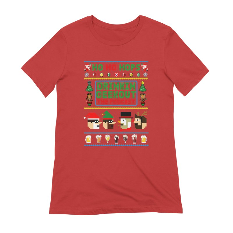 Ugly DiGo Sweater Women's Extra Soft T-Shirt by DrinkIN GeekOUT's Artist Shop