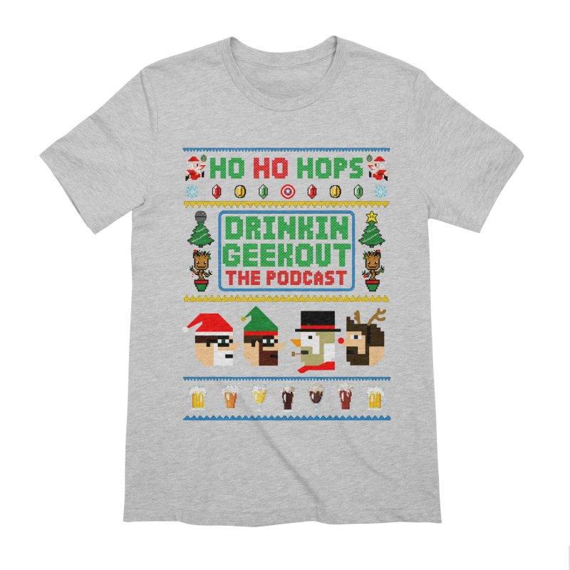 Ugly DiGo Sweater Men's Extra Soft T-Shirt by DrinkIN GeekOUT's Artist Shop