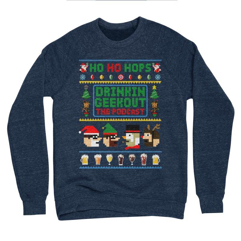 Ugly DiGo Sweater Men's Sponge Fleece Sweatshirt by DrinkIN GeekOUT's Artist Shop
