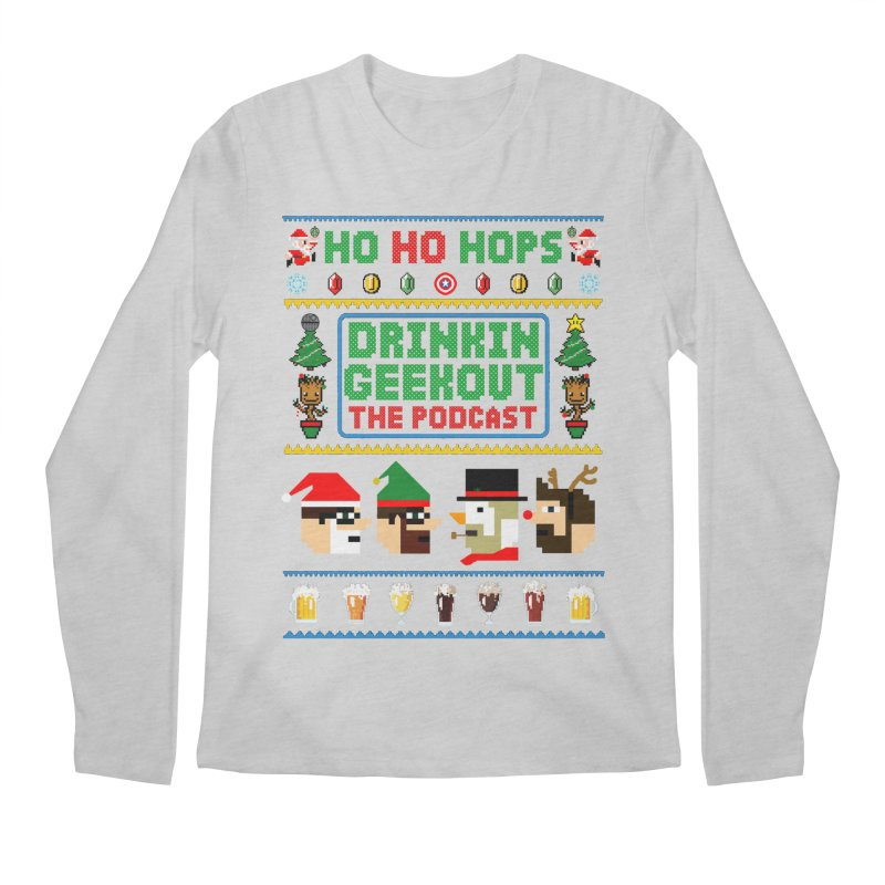 Ugly DiGo Sweater Men's Regular Longsleeve T-Shirt by DrinkIN GeekOUT's Artist Shop