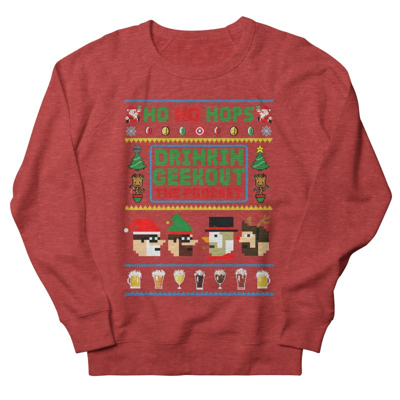 Ugly DiGo Sweater Men's French Terry Sweatshirt by DrinkIN GeekOUT's Artist Shop