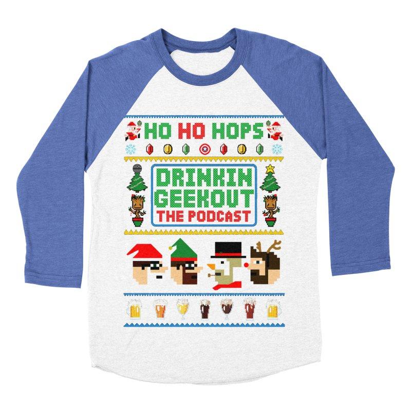 Ugly DiGo Sweater Women's Baseball Triblend Longsleeve T-Shirt by DrinkIN GeekOUT's Artist Shop