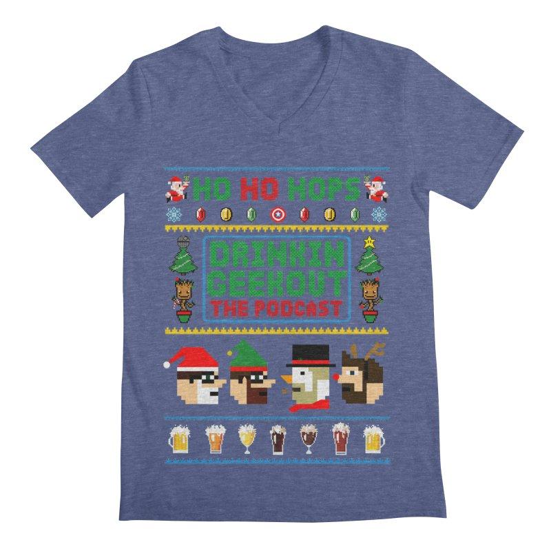 Ugly DiGo Sweater Men's Regular V-Neck by DrinkIN GeekOUT's Artist Shop