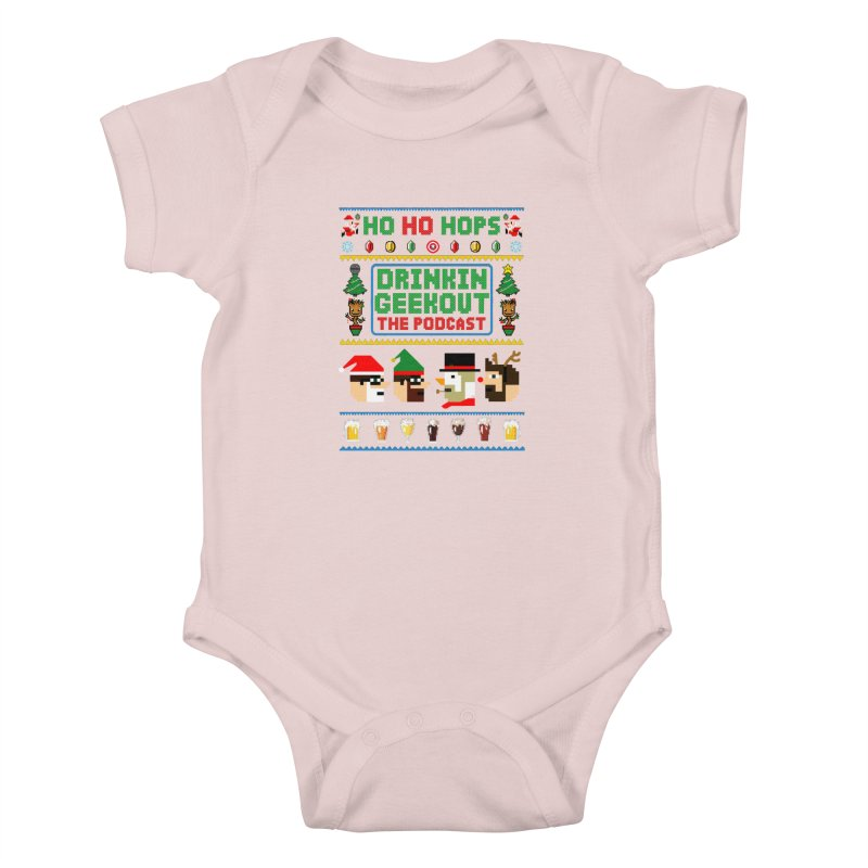 Ugly DiGo Sweater Kids Baby Bodysuit by DrinkIN GeekOUT's Artist Shop