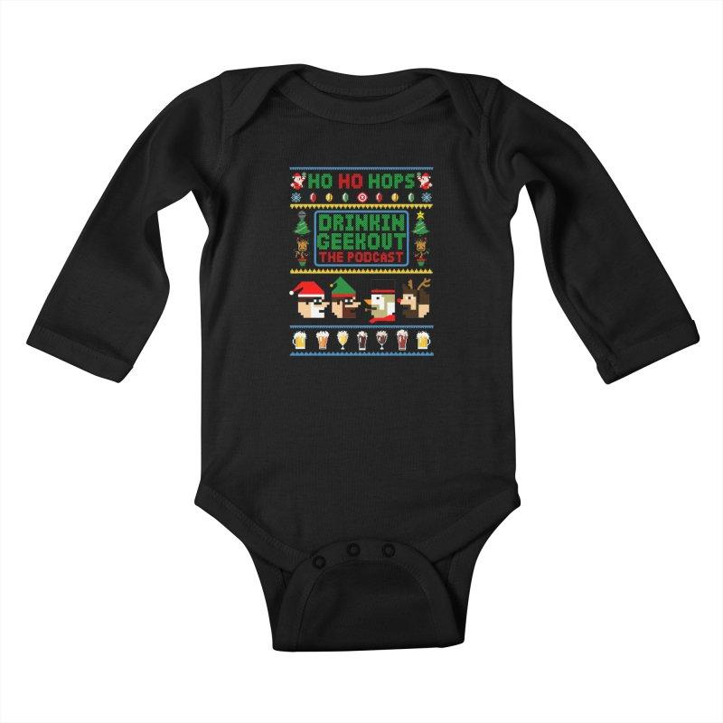 Ugly DiGo Sweater Kids Baby Longsleeve Bodysuit by DrinkIN GeekOUT's Artist Shop