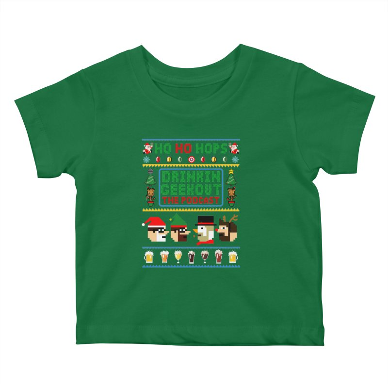 Ugly DiGo Sweater Kids Baby T-Shirt by DrinkIN GeekOUT's Artist Shop