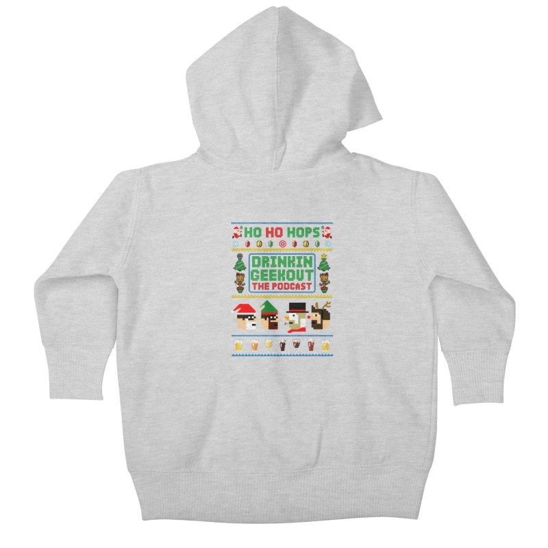 Ugly DiGo Sweater Kids Baby Zip-Up Hoody by DrinkIN GeekOUT's Artist Shop