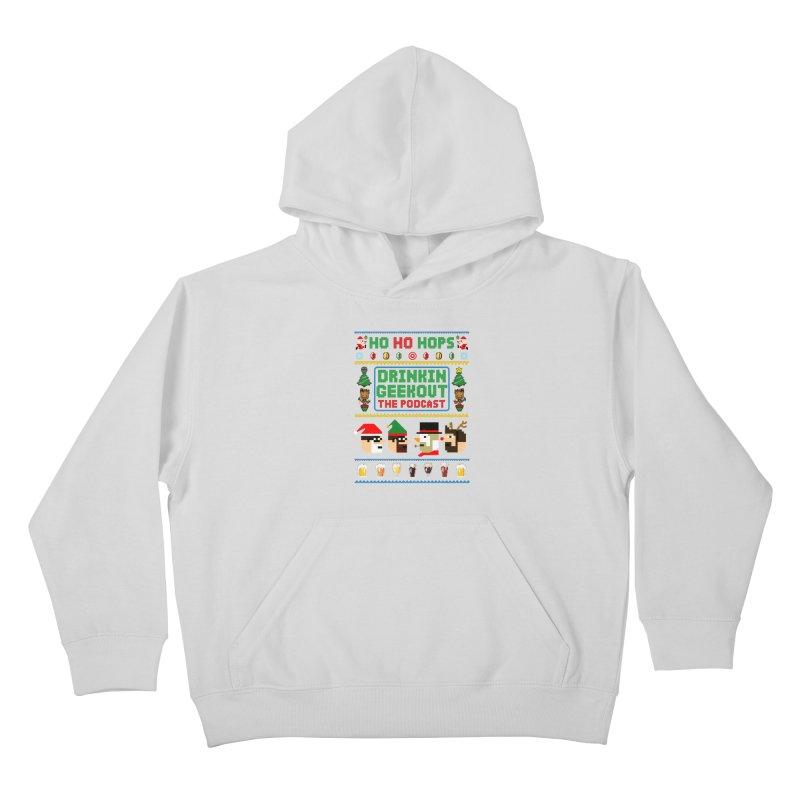 Ugly DiGo Sweater Kids Pullover Hoody by DrinkIN GeekOUT's Artist Shop