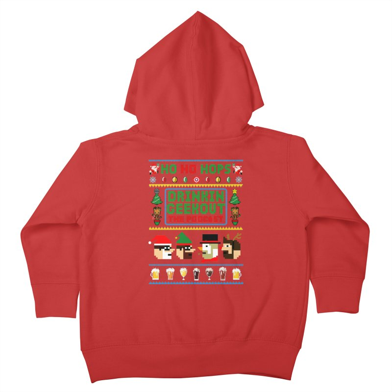 Ugly DiGo Sweater Kids Toddler Zip-Up Hoody by DrinkIN GeekOUT's Artist Shop