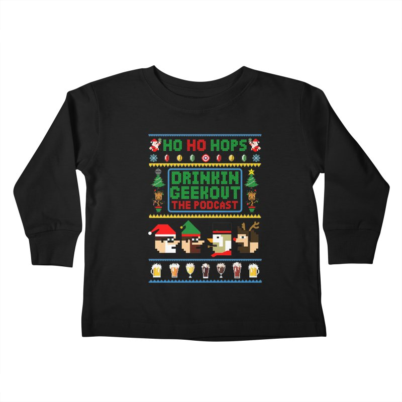 Ugly DiGo Sweater Kids Toddler Longsleeve T-Shirt by DrinkIN GeekOUT's Artist Shop