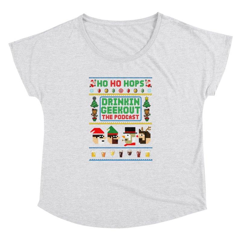 Ugly DiGo Sweater Women's Dolman Scoop Neck by DrinkIN GeekOUT's Artist Shop