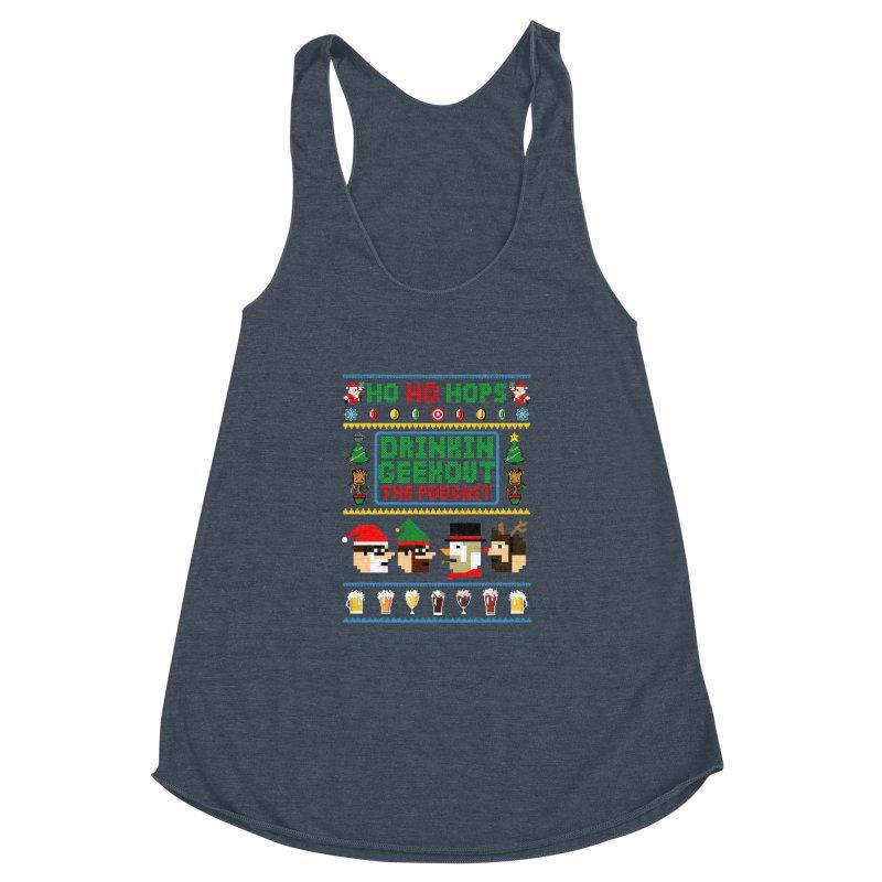 Ugly DiGo Sweater Women's Racerback Triblend Tank by DrinkIN GeekOUT's Artist Shop