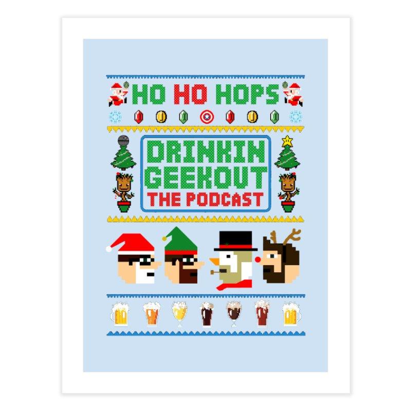 Ugly DiGo Sweater Home Fine Art Print by DrinkIN GeekOUT's Artist Shop