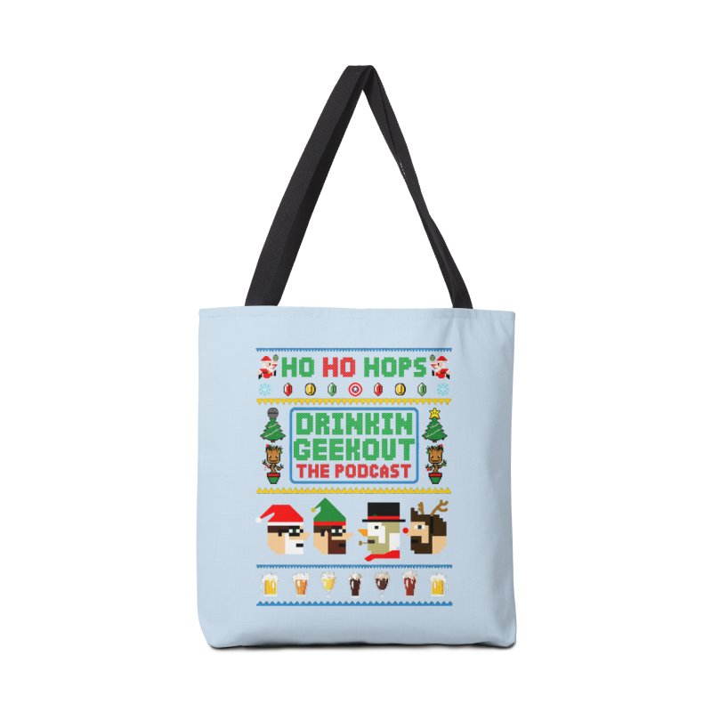 Ugly DiGo Sweater Accessories Tote Bag Bag by DrinkIN GeekOUT's Artist Shop