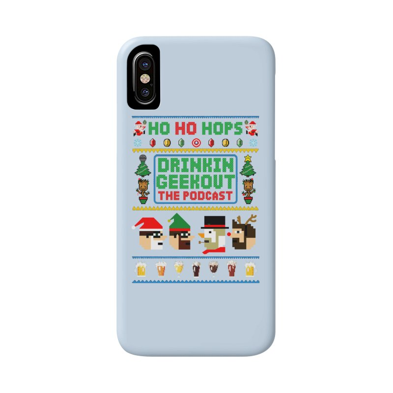 Ugly DiGo Sweater Accessories Phone Case by DrinkIN GeekOUT's Artist Shop