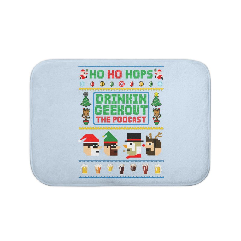 Ugly DiGo Sweater Home Bath Mat by DrinkIN GeekOUT's Artist Shop