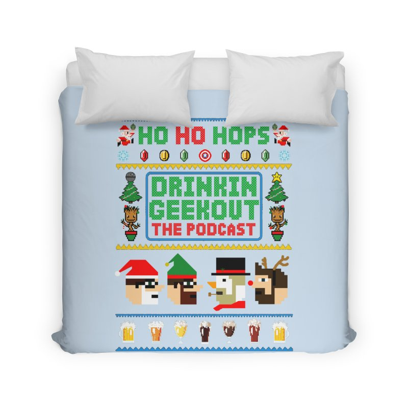 Ugly DiGo Sweater Home Duvet by DrinkIN GeekOUT's Artist Shop