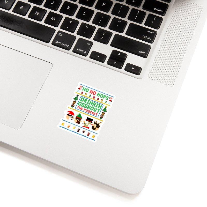 Ugly DiGo Sweater Accessories Sticker by DrinkIN GeekOUT's Artist Shop