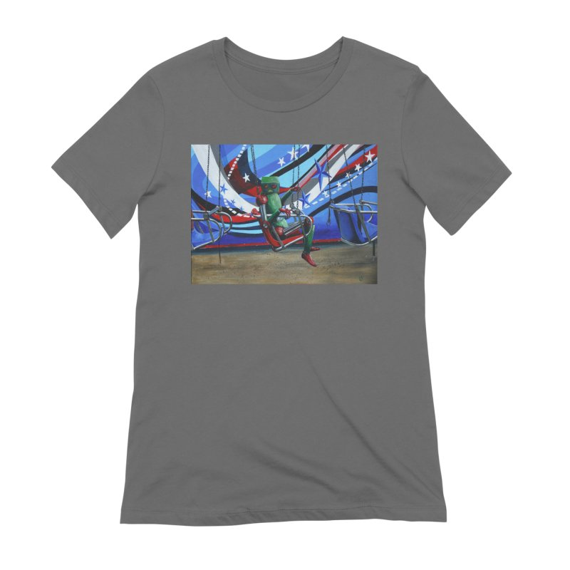 Lonely Robot 10 Women's T-Shirt by Dswensondesign 's Artist Shop